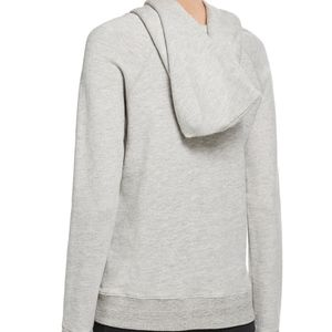 Reliable Cheap Online Distressed Pullover Hoodie in Light Gray Sundry Perfect Sale Online Discount Really Manchester Great Sale Sale Online LO9su